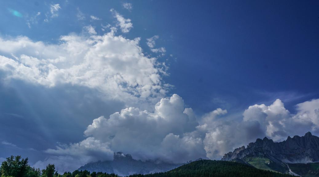 Wolken Wilderkaiser