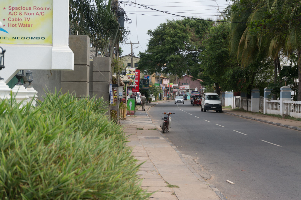 Negombo Beachside Street