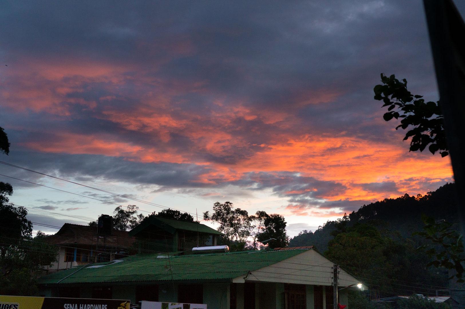 Sri Lanka Ella Sun Rise