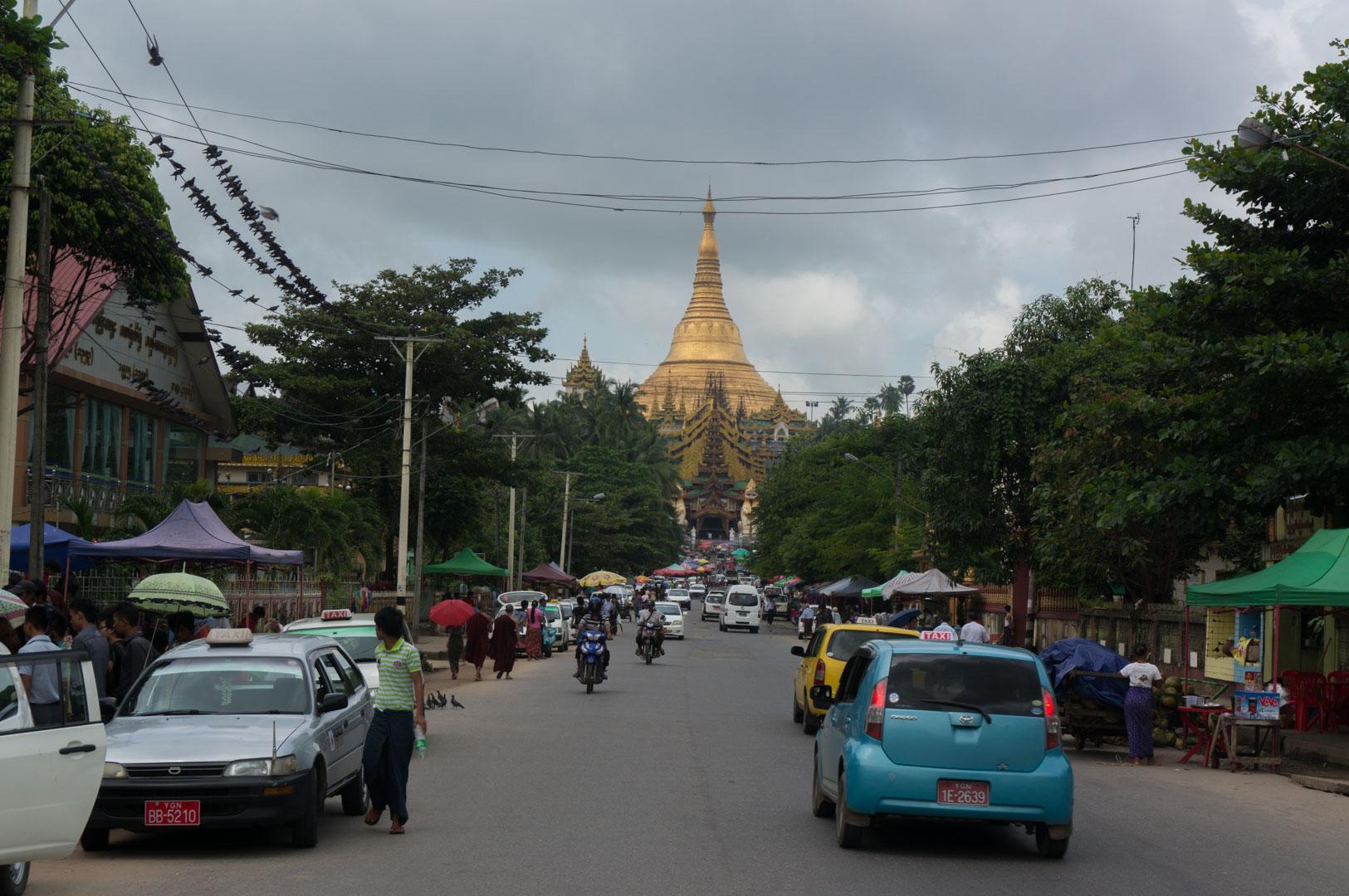 Yangon Swedagon Pagode