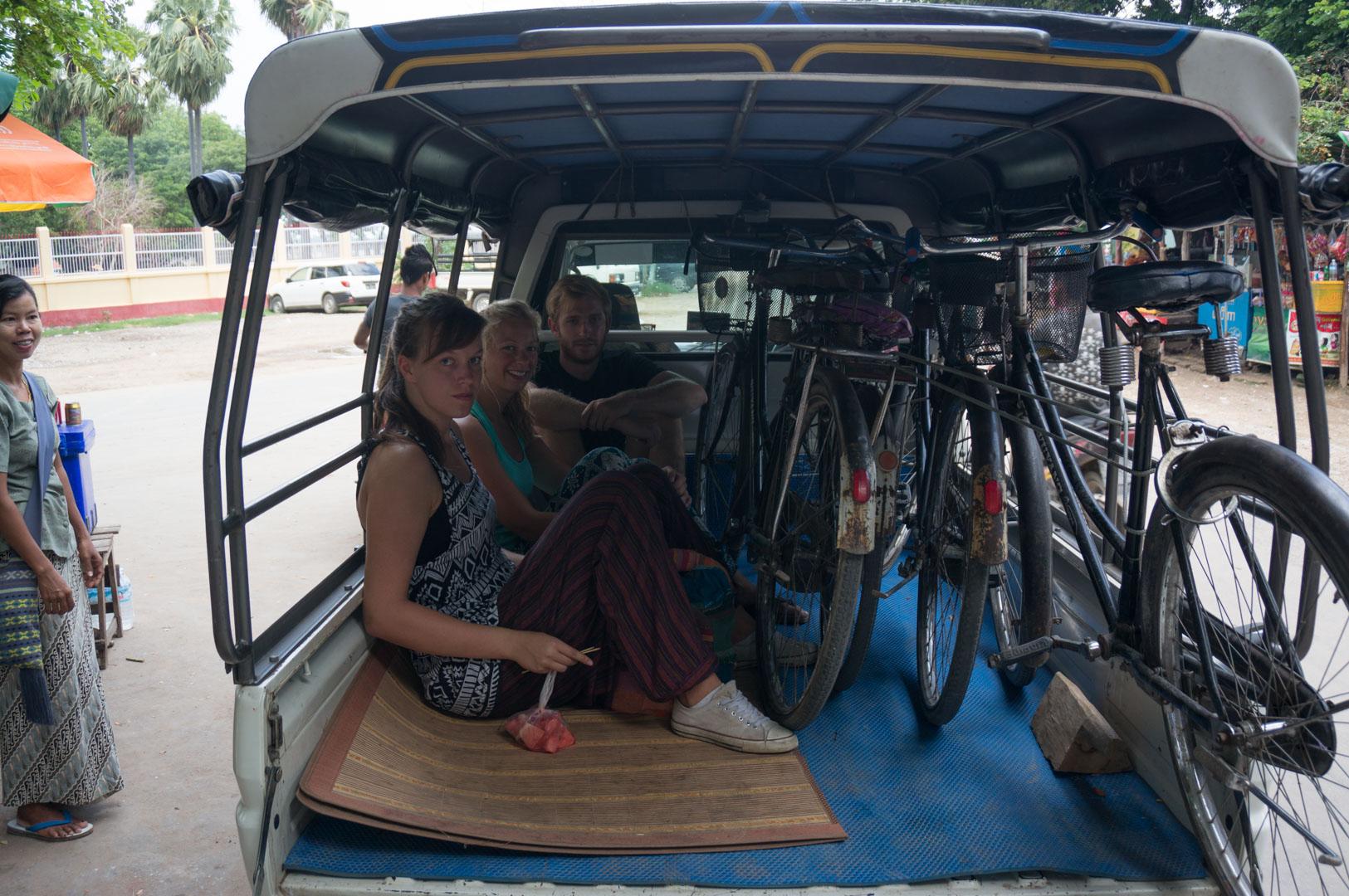 Amarapura Fahrrad LKW TukTUk