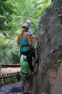 Lead Climbing Chiang Mai