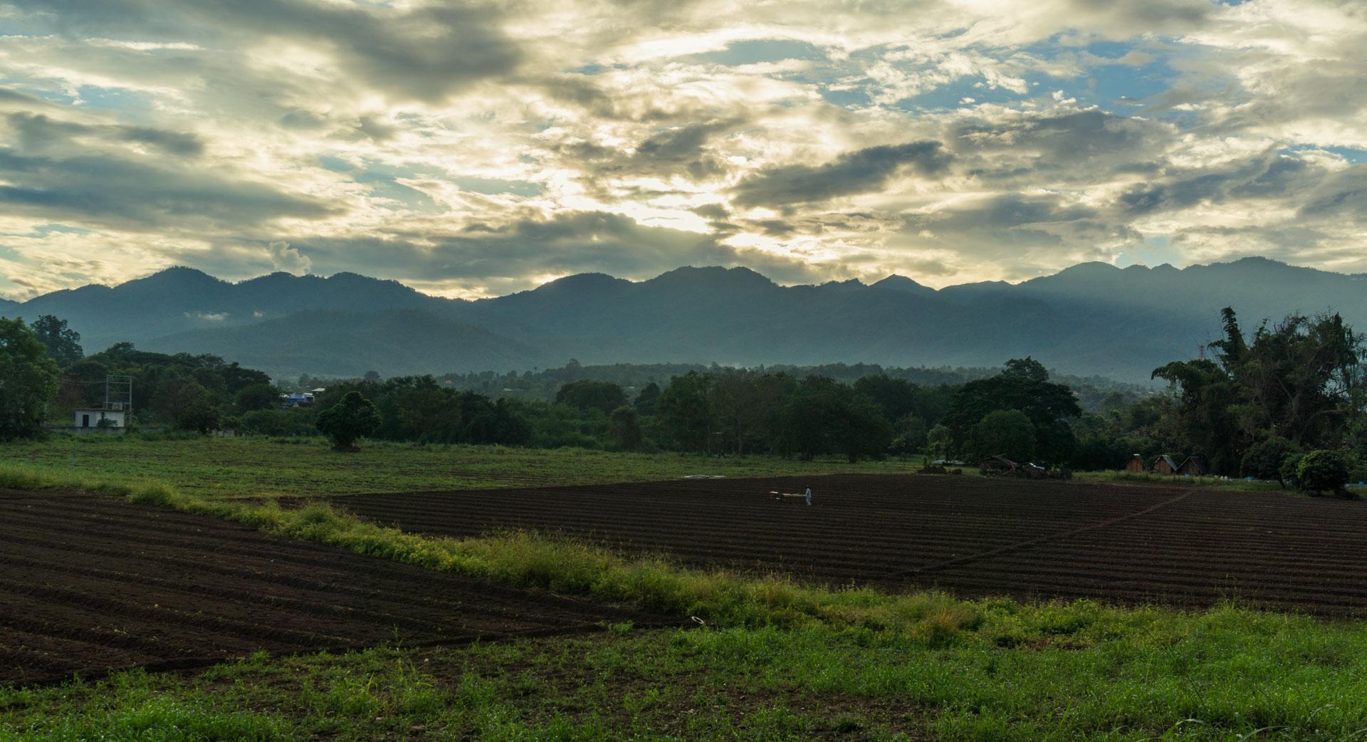 Pai Sunrise Landschaft Landscape