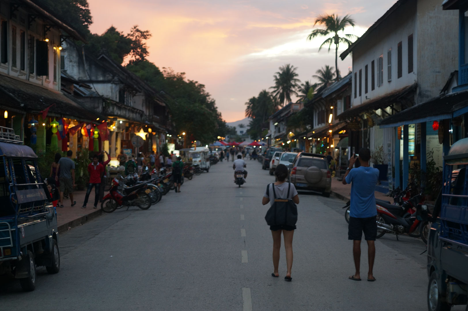 Luang Prabang Main Raod