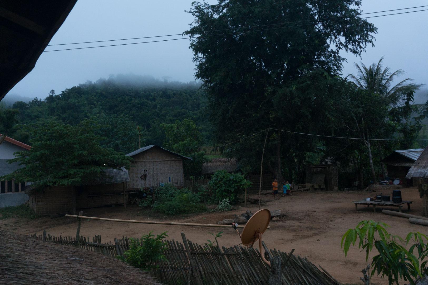 Laos morgens um 6 Uhr