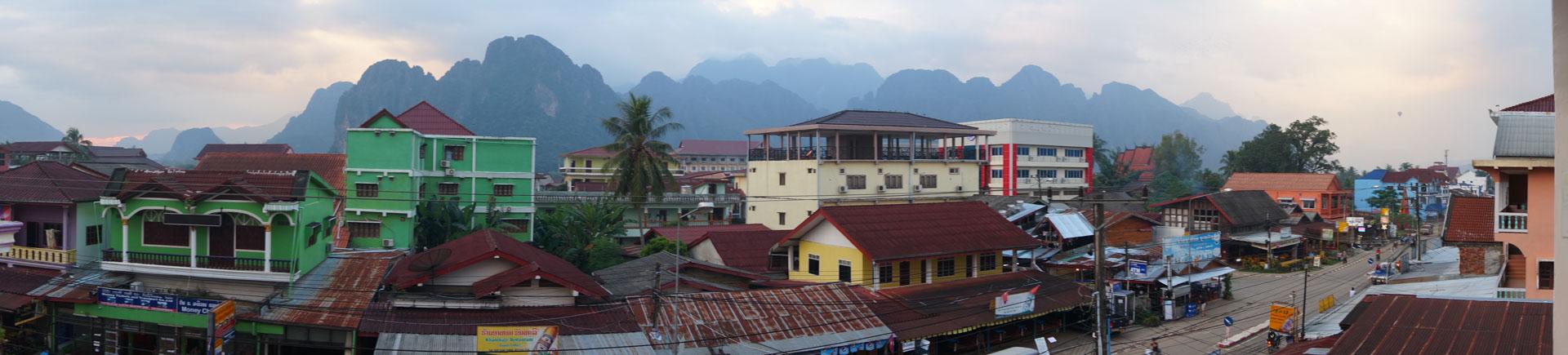 Vang Vieng Panorama