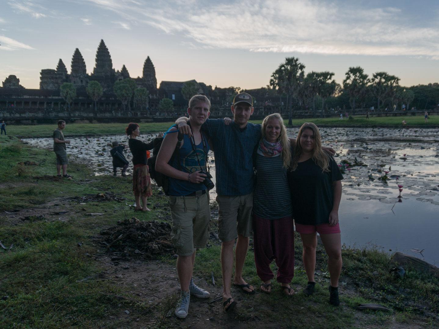 Ankor Wat Tempel Tour