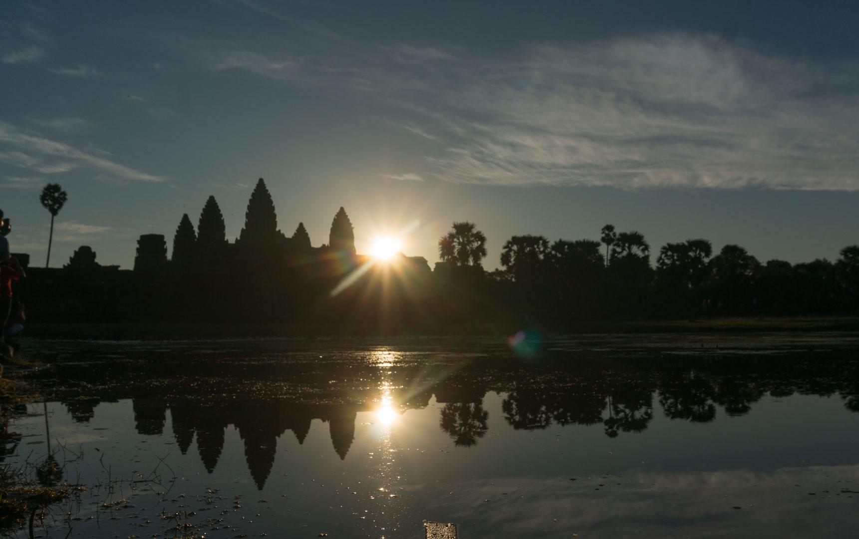 Ankor Wat Sun Rise Sonnenaufgang