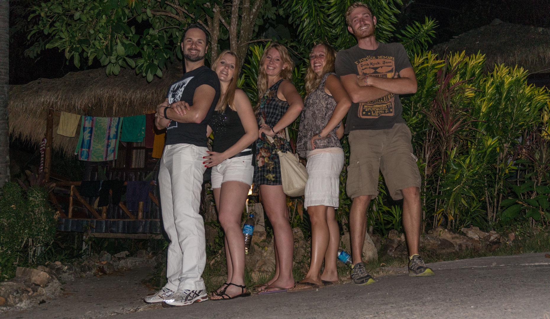 Raphael,Kady,Anni, Lisa und Patrick
