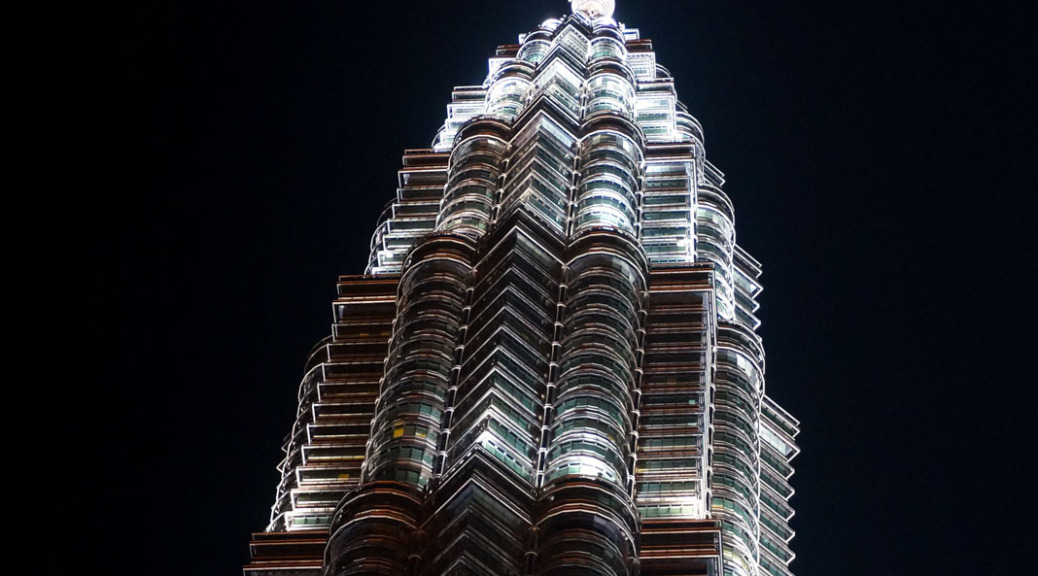 Petronas Tower pfütze