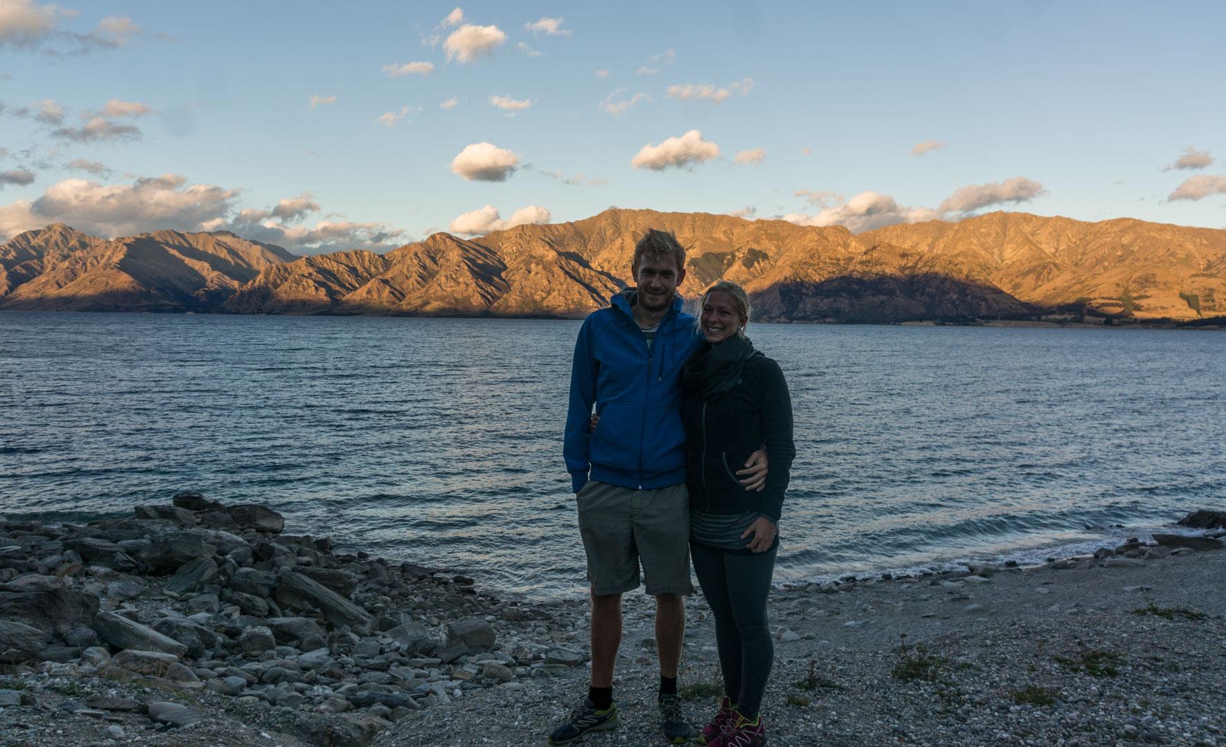 Lake Haweka Aussicht Campingplatz