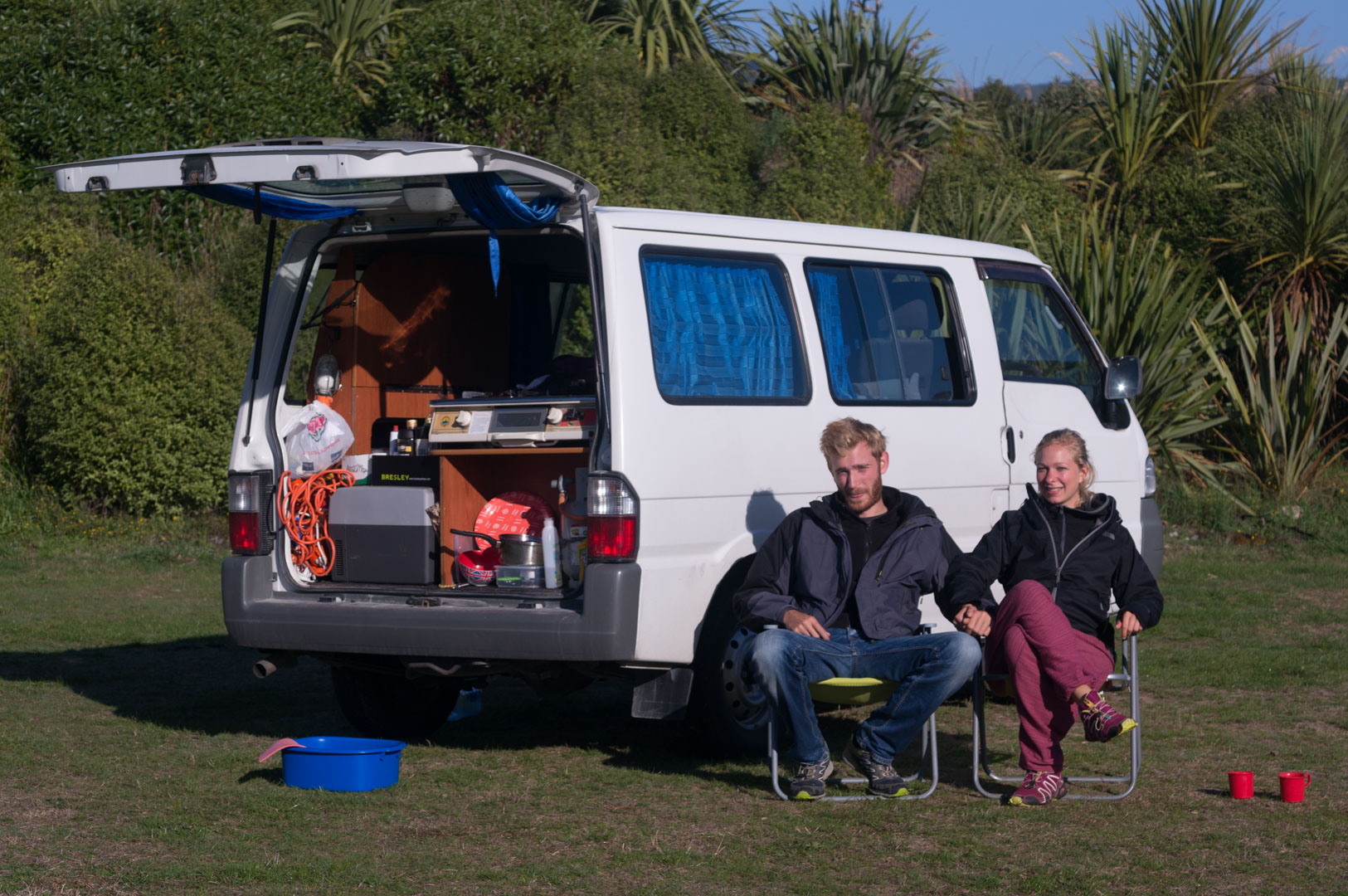 Free Camping Dunedin DOC