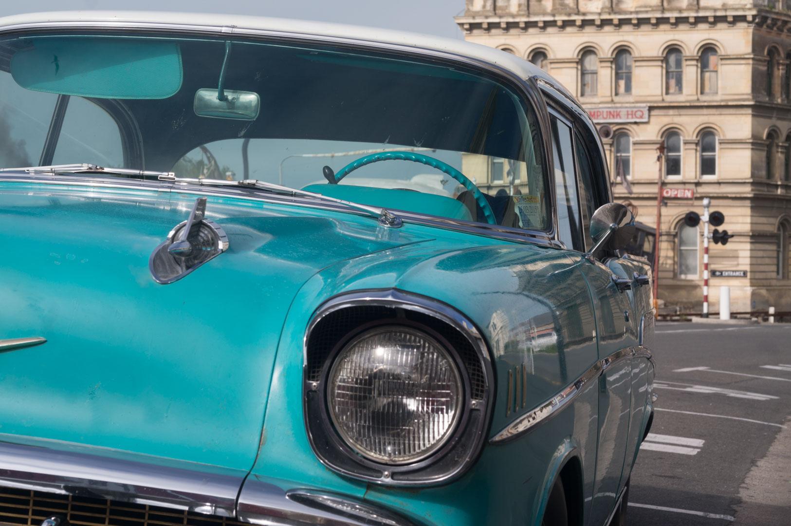 Die Neuseeländer fahren viel mit ihren alten Autos