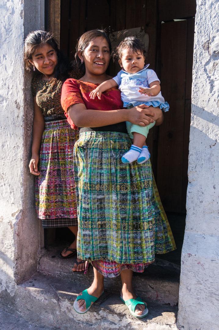 Traditionelle Kleidung ist total verbreitet