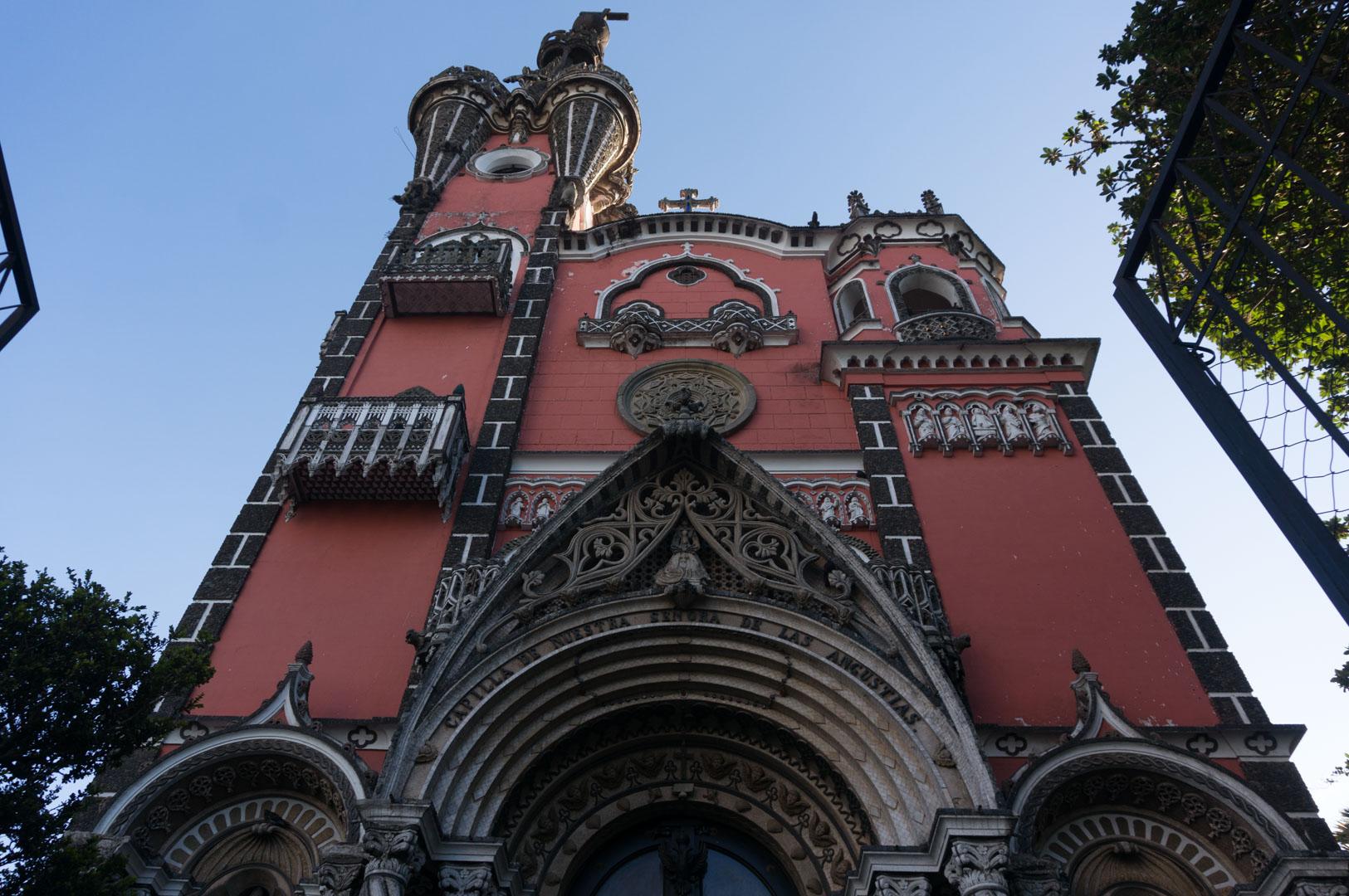 Einer der coolen alten Gebäude in Guatemala City