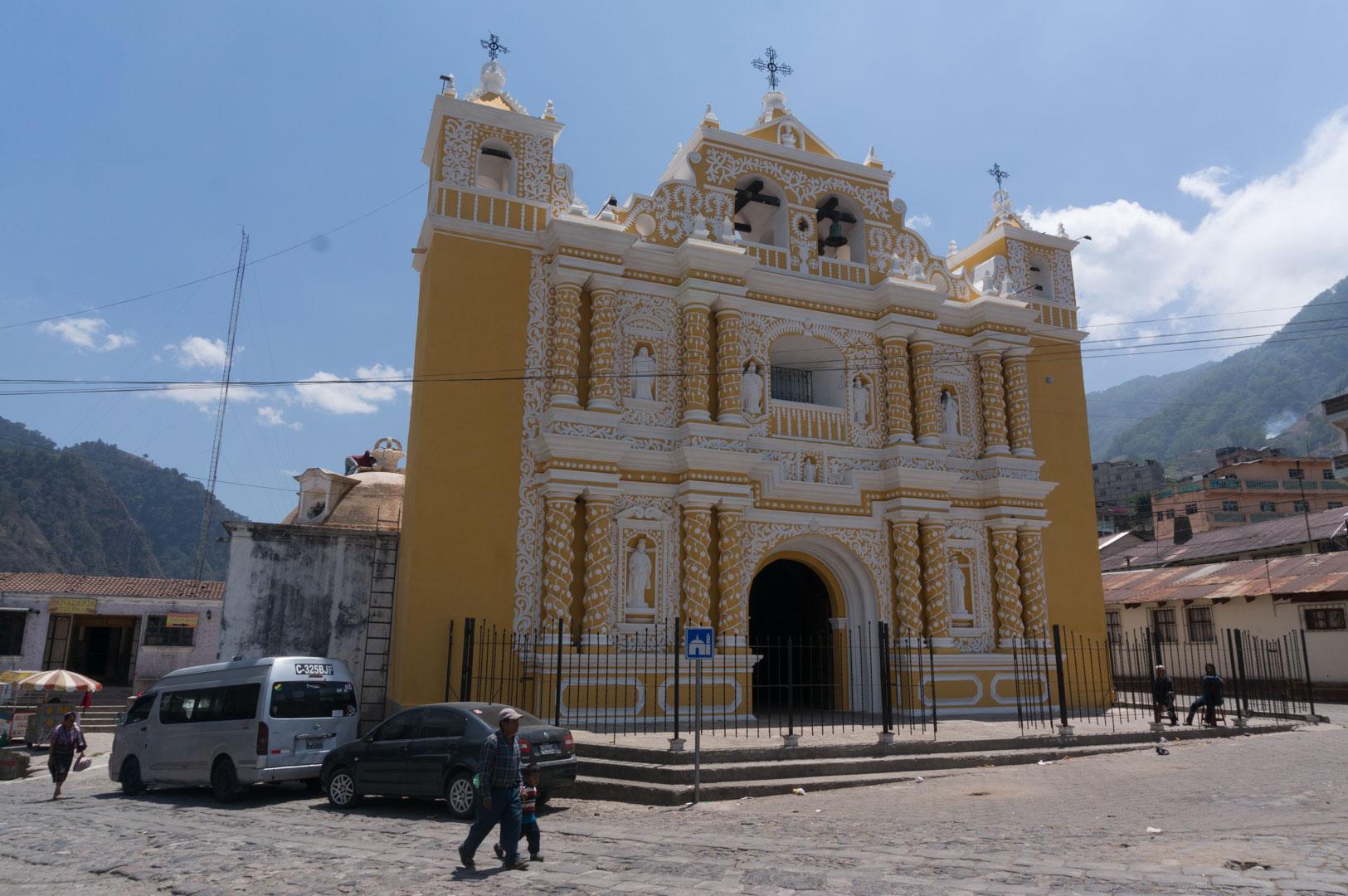 Die älteste Kirche in Zentral Amerika