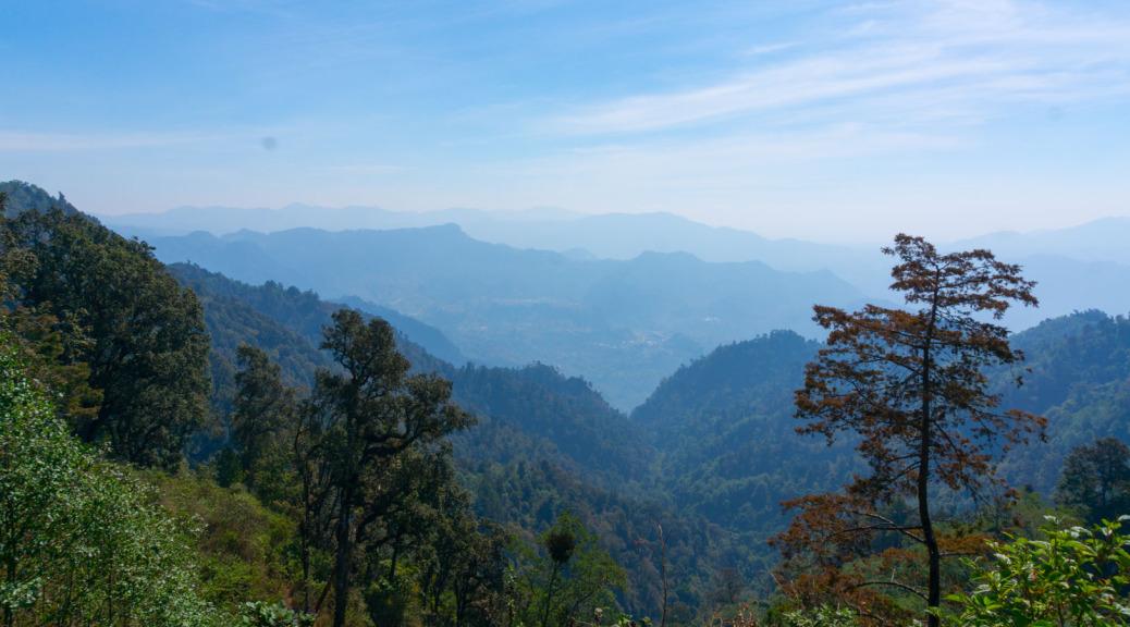 Trecking von Xela nach Lago de Atitlan