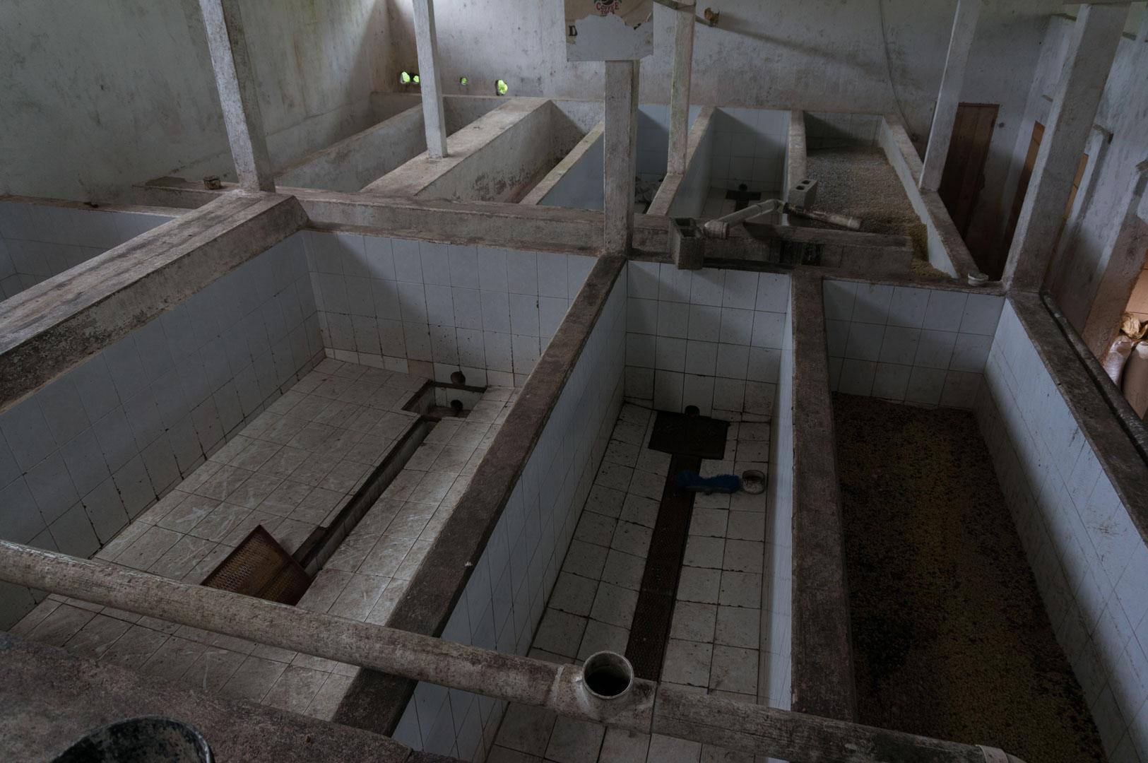 Becken für die Fermentation