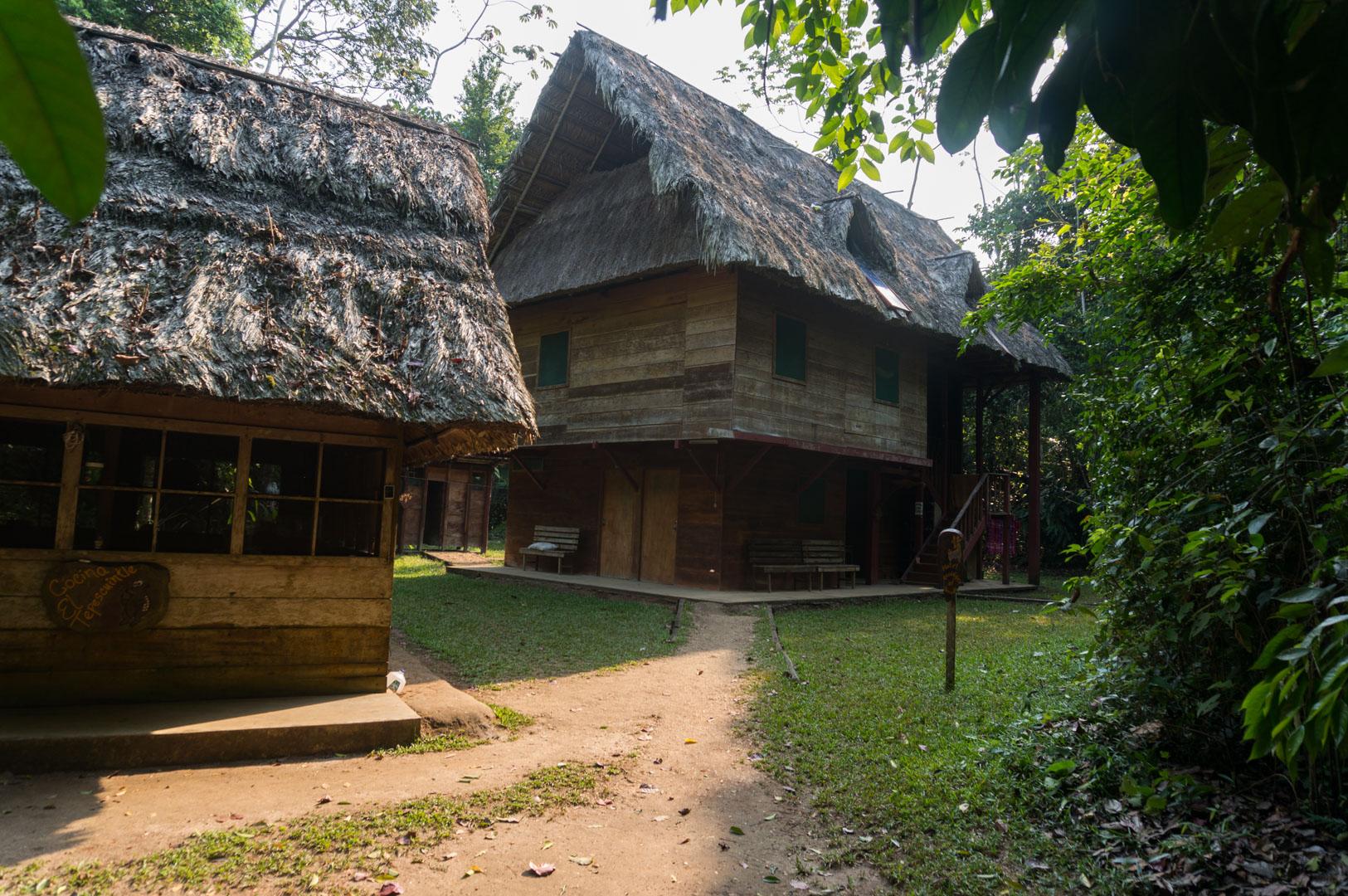 Laguna Lachua Huts Unterkunft