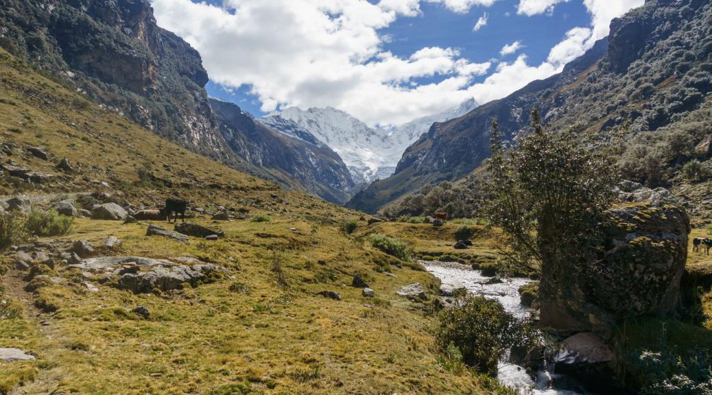 Llaca Vallay Climbing Huaraz Klettern Huaraz