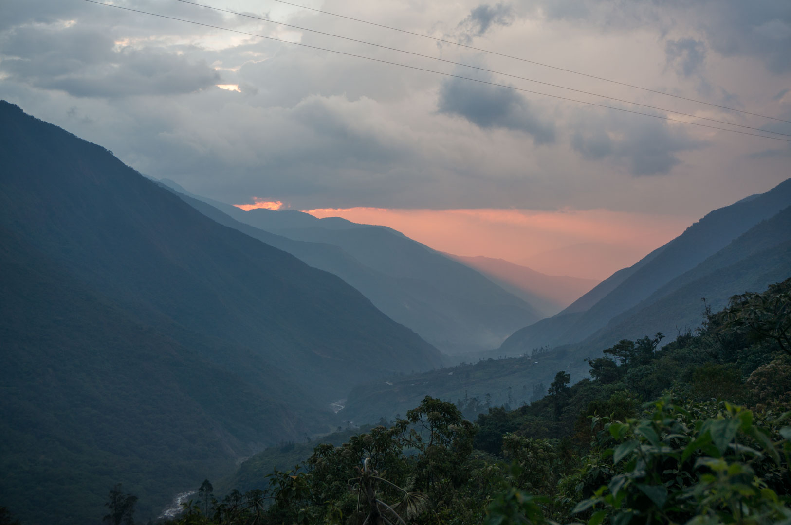 Busfahrt Machu Pichu